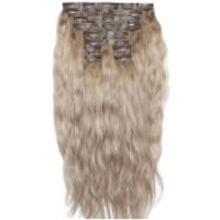 Beauty Works 22 Inch Beach Wave Double Hair Extension Set (Various Shades) - Scandinavian Blonde