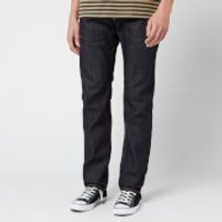 Edwin Men's Ed-55 Rainbow Selvage Tapered Jeans - Blue Unwashed - W34/L32