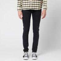 Edwin Men's ED-85 Slim Tapered Drop Crotch Ayano Black Denim Jeans - Kagami Wash - W36/L30