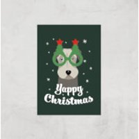 Yappy Christmas Art Print - A3 - Print Only