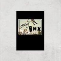 BMX Jump Art Print - A4 - Print Only - Bmx Gifts