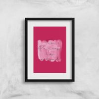 The Princess Has Arrived Art Print - A3 - No Hanger - Princess Gifts