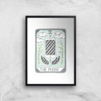 The Phone Art Print - A2 - Wood Frame