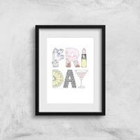 Friday Art Print - A4 - No Hanger