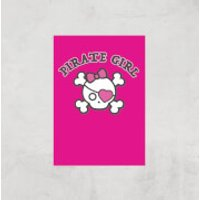 Pirate Girl Art Print - A3 - Print Only - Pirate Gifts