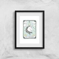 The Unicorn Art Print - A3 - No Hanger