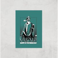 St. Patricks Day Art Print - A3 - Print Only - St Patricks Day Gifts