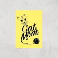 Cat Mom Art Print - A3 - Print Only