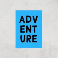 Adventure Art Print - A4 - Print Only - Adventure Gifts