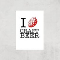 I Hop Craft Beer Art Print - A4 - Print Only - Craft Gifts