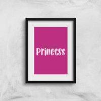 My Little Princess Art Print - A3 - No Hanger - Princess Gifts