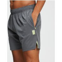 MP Training Men's Stretch Woven 7 Inch Shorts - Carbon - XS