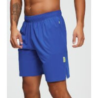 MP Training Men's Stretch Woven 9 Inch Shorts - Cobalt - S