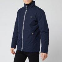 GANT Mens The Coastal Mid Length Jacket - Evening Blue - XL - Blue