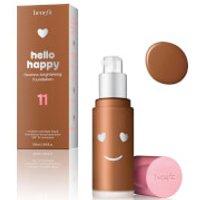 benefit Hello Happy Flawless Liquid Foundation (Various Shades) - Shade 11