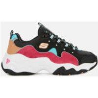 Skechers Skechers Women's D'Lites 3.0 Trainers - Black/Pink/Blue - UK 8