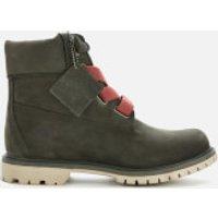 Timberland Timberland Women's 6 Inch Premium Convenience Boots - Dark Green Nubuck - UK 3