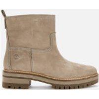 Timberland Timberland Women's Courmayeur Valley Faux Fur Boots - Taupe Nubuck - UK 5