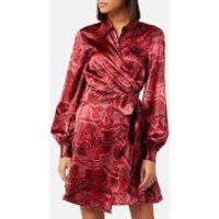 Ganni Women's Silk Stretch Satin Dress - Samba - EU 38/UK 10