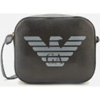 shop for Emporio Armani Women's Eagle Shoulder Tote Bag - Black at Shopo