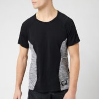 adidas X Missoni Men's C.R.U Short Sleeve T-Shirt - Black/Dark Grey/White - XL