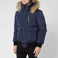 Mackage Men's Nathan Fur Down Jacket - Navy - S