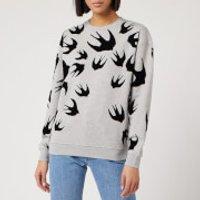 McQ Alexander McQueen Women's Classic Sweatshirt - Mercury Melange - S