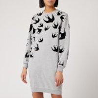 McQ Alexander McQueen Women's Classic Sweat Dress - Mercury Melange - L