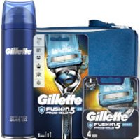 Gillette Fusion5 Proshield Chill Shaving Kit with Wash Bag