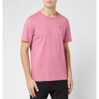 Champion Men's Crew Neck T-Shirt - Pink - L
