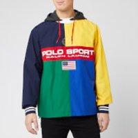 Polo Sport Ralph Lauren Men's Rugby Popover Shell Jacket - Multi - M