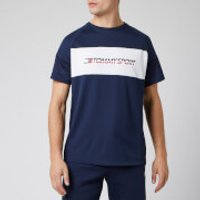 Tommy Hilfiger Sport Men's Performance Mesh Short Sleeve T-Shirt - Sport Navy - XL