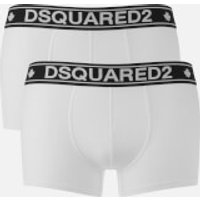 Dsquared2 Men's Twin Pack Trunk Boxers - White - M