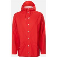 RAINS Jacket - Red - M-L