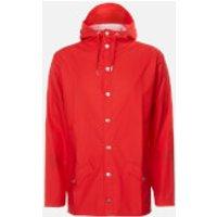 RAINS Jacket - Red - L-XL