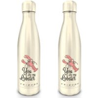 Friends (You Are My Lobster) Metal Drinks Bottle - Kitchen Gifts