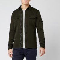 Superdry Men's Patch Patrol Long Sleeve Shirt - Resin - M