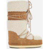 Moon Boot Women's Wool Boots - Sand/Off White - EU 35-38