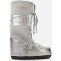 Moon Boot Women's Glance Boots - Silver - EU 39-41