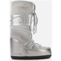 Moon Boot Women's Glance Boots - Silver - EU 39-41