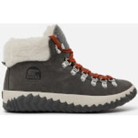 Sorel Women's Out 'N About Plus Conquest Waterproof Suede Boots - Quarry - UK 3