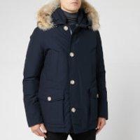 Woolrich Men's Artic Anorak - Melton Blue - XL