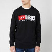 Diesel Men's Division Sweatshirt - Black - S