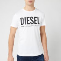 Diesel Men's Diego Logo T-Shirt - Bright White - XXL