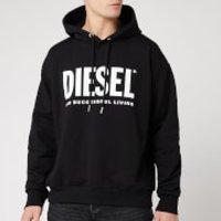 Diesel Men's Division Diesel Logo Hoodie - Black - S
