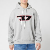 Diesel Men's Division D Hoodie - Grey - S