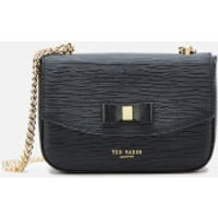 shop for Ted Baker Women's Danieel Bow Mini Shoulder Bag - Black at Shopo