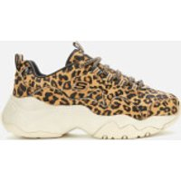 Skechers Women's D'Lites 3.0 Jungle Fashion Trainers - Leopard - UK 7