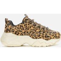 Skechers Women's D'Lites 3.0 Jungle Fashion Trainers - Leopard - UK 4