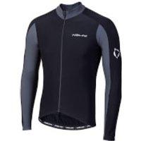 Nalini W 2.0 Long Sleeve Jersey - XL - Black/Grey
